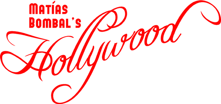 Matías Bombal's Hollywood header logo